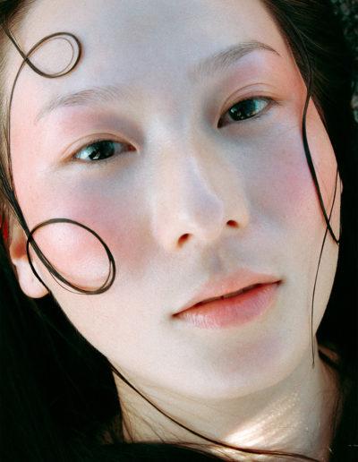 Veronica Contu Make up per Vogue Claudia Corrias ASIA